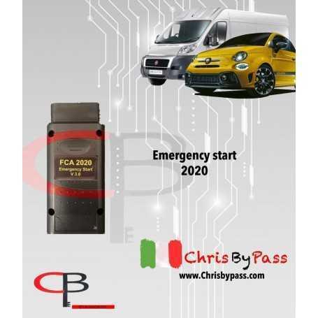 Emergency start 2020 Fiat, Alfa roemo , Lancia , Abarth , + spacial funtion