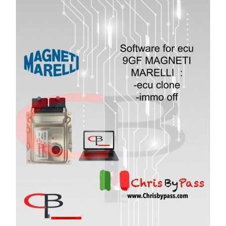 software for ecu 9GF by magneti marelli