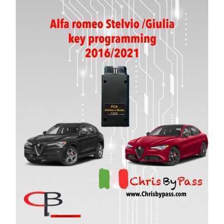 Alfa romeo Stelvio/Giulia 2016-2021