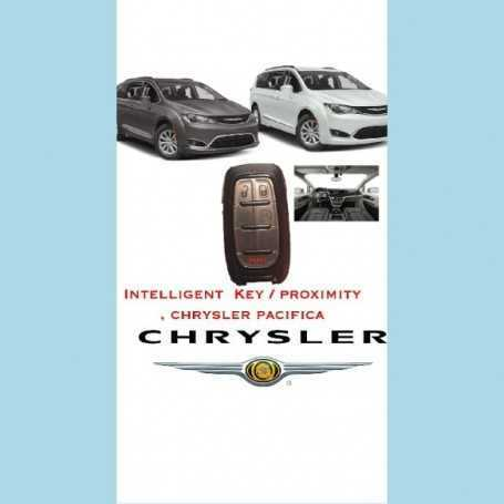 intelligent key prozimity chrysler pacifica