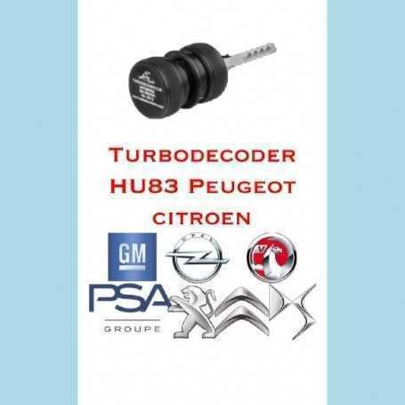 turbodecoder hu38 pugeot citroen