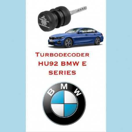 turbodecoder hu92 bmw e series