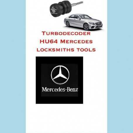 turbodecoder hu64 mercedes locksmiths tools