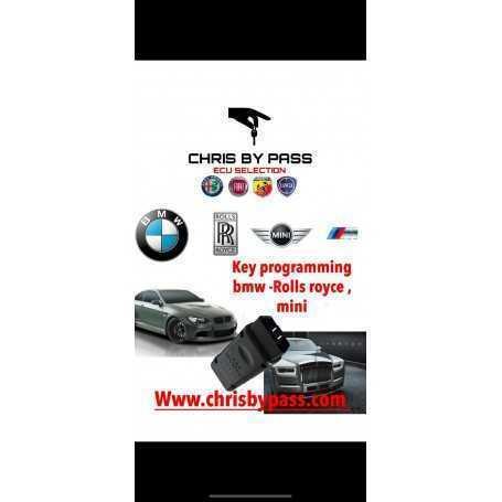BMW , ROLLS ROYCE , MINI key programming