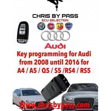 AUDI key programming
